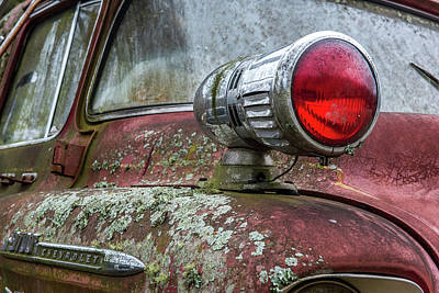 Photograph - Old Chevy Firetruck by Paul Freidlund