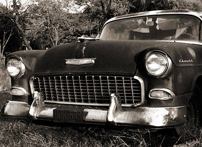 Photograph - Old Chevy by Marilyn Hunt