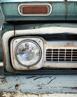 Photograph - Old Chevy Pickup Truck by Heidi Hermes