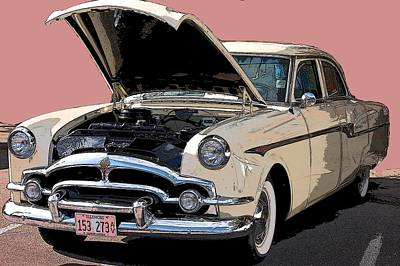 Old Chevy Art Print by Robert Meanor