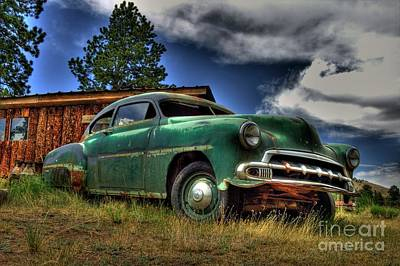 Photograph - Old Chevy by Tony Baca