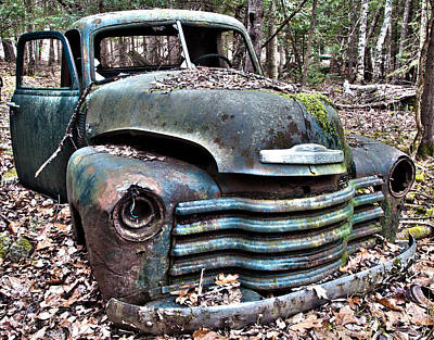Photograph - Antique Chevy Truck  by Glenn Gordon