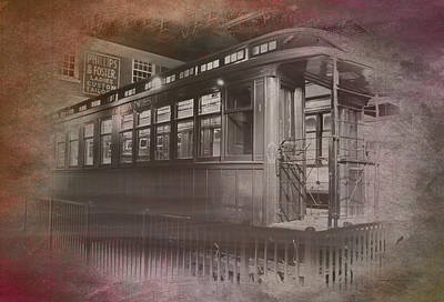 Turn-of-the-century Mixed Media - Old Chicago 06 Trains Textured by Thomas Woolworth