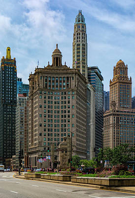 Photograph - Old Chicago by Dennis Reagan