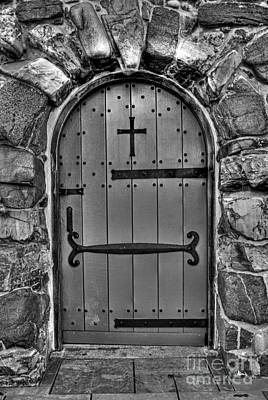 Photograph - Old Church Door by Alana Ranney