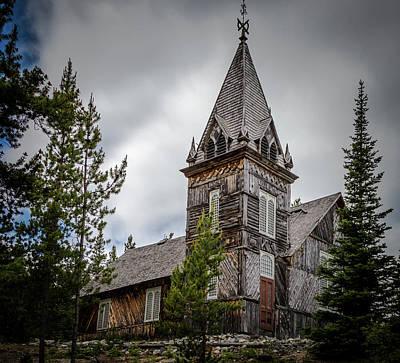 Photograph - Old Church by Ed Clark