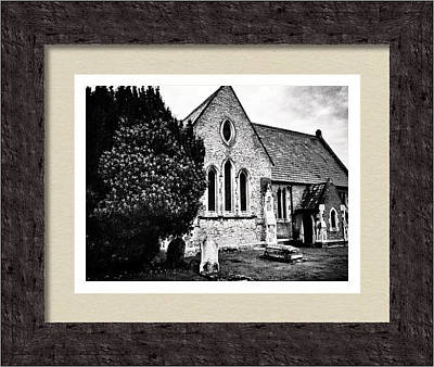 Photograph - Old Church Framed Print  by Fine Art By Andrew David