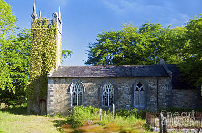 Photograph - Old Church Ireland Day 8 by Cindy Murphy - NightVisions