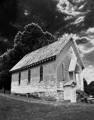 Photograph - Old Church On Great River Road by Susan Garrett