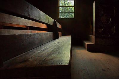 Photograph - Old Church - Pew by Nikolyn McDonald