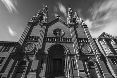 Tour Bus San Francisco Photograph - Old Church by Phil Fitzgerald