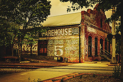 Photograph - Old Cigar Warehouse by Library Of Congress