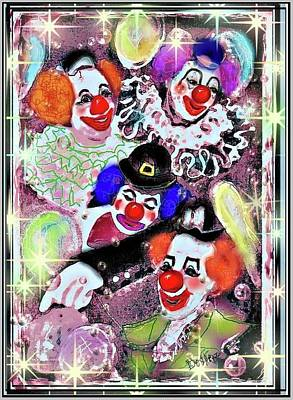 Mixed Media - Old Circus by Desline Vitto