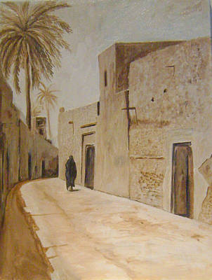 Old Iraqi City Painting - Old City 3 by Yahya Batat