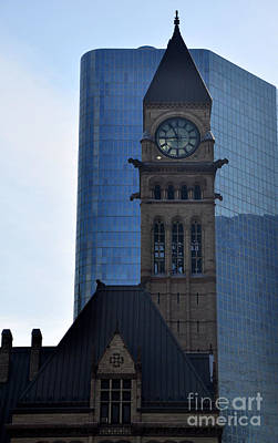Photograph - Old City Hall 2 by Andrew Dinh