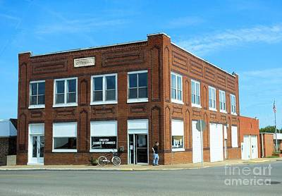 Photograph - Old City Hall In Checotah Oklahoma by Janette Boyd