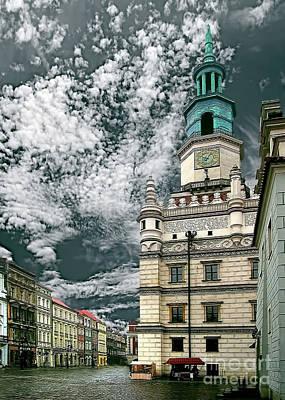 Photograph - Old City Hall Poznan Poland by Danuta Bennett