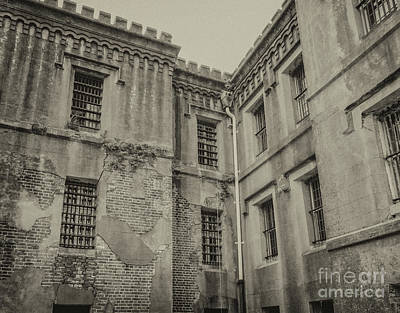 Digital Art - Old City Jail Chs by Dale Powell