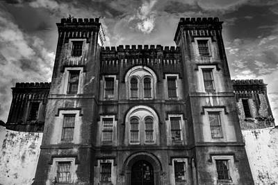 Industrial Photograph - Old City Jail by Drew Castelhano