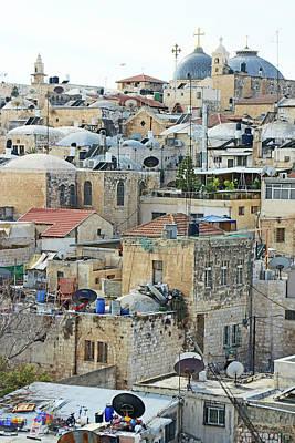 Photograph - Old City Of Jerusalem by Munir Alawi
