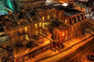 Old City Street Original by Desmond Bell