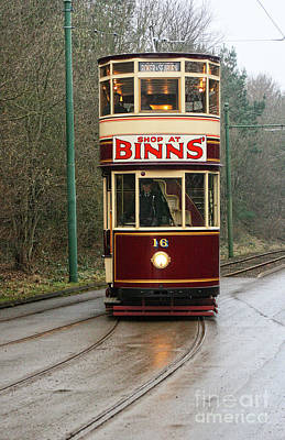 Photograph - Old Classic Tram Art by Doc Braham