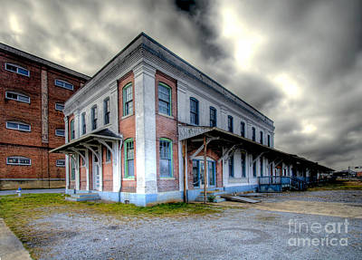 Photograph - Old Clinchfield Train Station by Photography by Laura Lee
