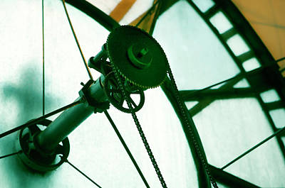 Photograph - Old Clock Gears by Marilyn Hunt