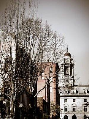 Photograph - Old  Clock Tower Portland Maine by Debra Forand