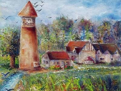 Painting - Old Colony 1925 by Bernadette Krupa