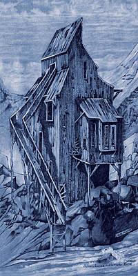 Old Colorado Mine Art Print by Donn Kay