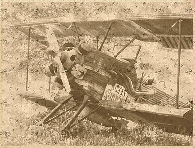 Photograph - Old Commuter Plane by Colette Merrill