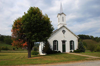 Photograph - Old Concord Church by Randy Bayne