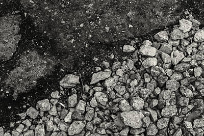 Photograph - Old Concrete Path And Tarmac by John Williams