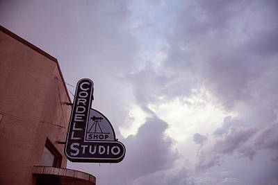 Photograph - Old Cordell Photo Studio by Toni Hopper