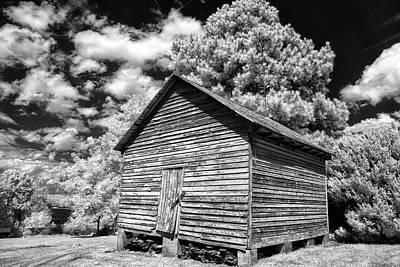 Pyrography - Old Corn Barn by Paul Seymour