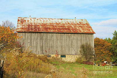 Photograph - Old Country Barn IIi by Nina Silver
