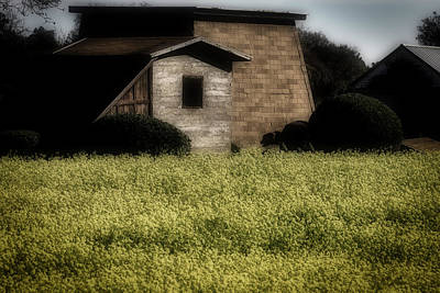 Old Country Buildings Art Print