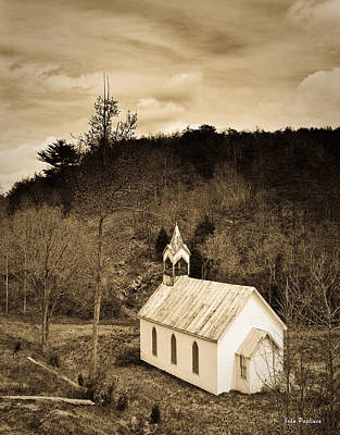 Old Country Church Art Print