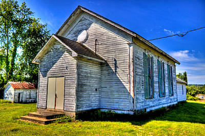 Photograph - Old Country Church by Jonny D