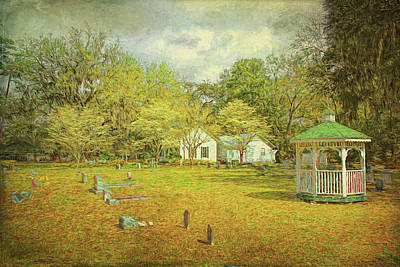 Art Print featuring the photograph Old Country Church by Lewis Mann