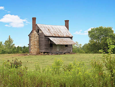 Old Country Farm House Art Print