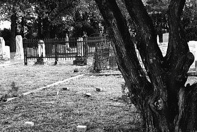 Photograph - Old Country Graveyard by Lon Casler Bixby