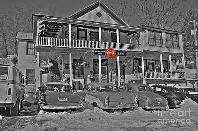Old Coke Sign Wall Art - Photograph - Old Country Store by Todd Hostetter