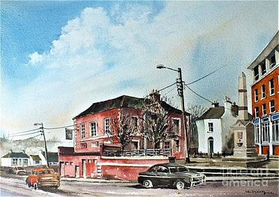 Painting - Old Courthouse Bray, Wicklow....vb733 by Val Byrne