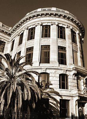 Photograph - Old Courthouse-new Orleans Sepia by Judy Vincent