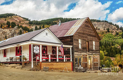 Miners Ghost Photograph - Old Courthouse by Robert Bales