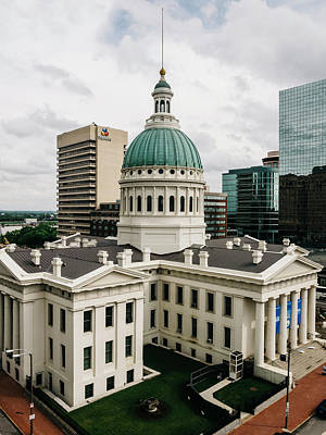 Photograph - Old Courthouse - St. Louis, Mo by Dylan Murphy