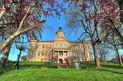 Photograph - Old Courthouse by Steve Stuller