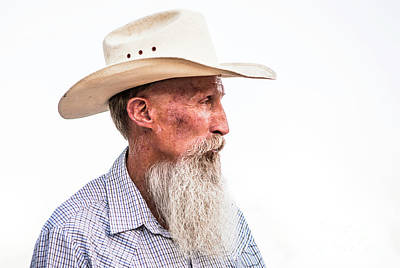 Photograph - Old Cowboy by Diane Diederich